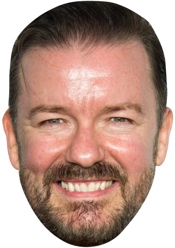 Ricky Gervais Mask