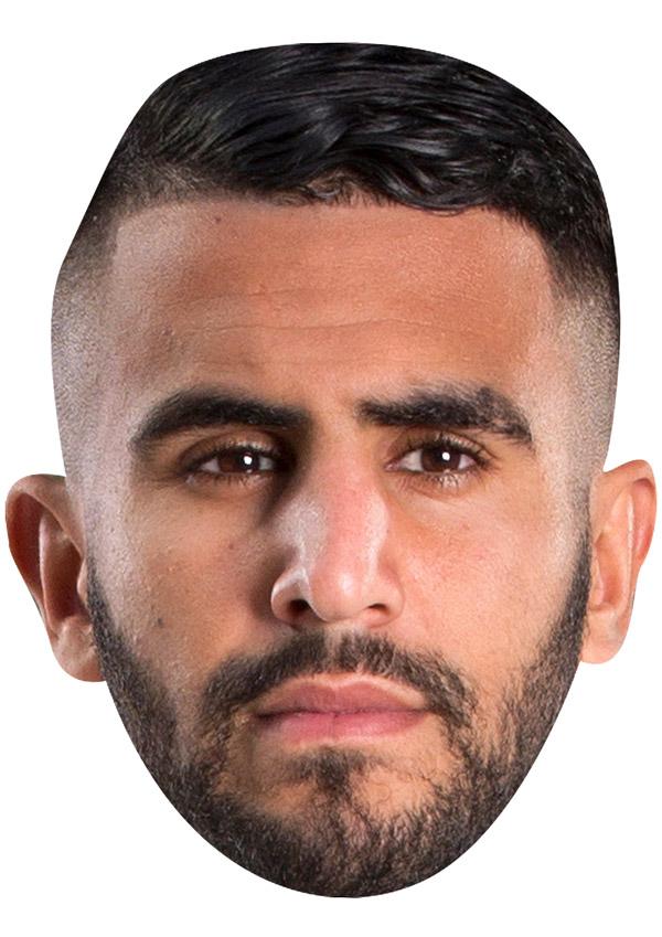Riyad Mahrez Mask