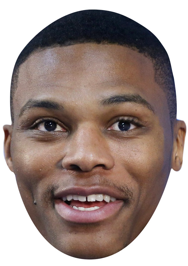 Russell Westbrook Mask