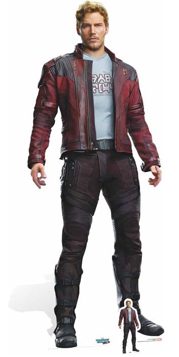 Peter Quill Chris Pratt Guardians of the Galaxy - Cutout