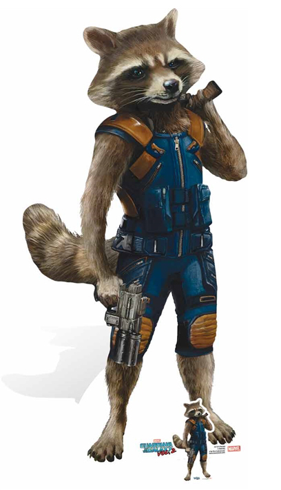 Rocket Raccoon Top Tier Marksman Guardians of the Galaxy