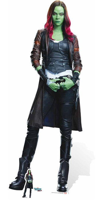 Gamora (Zoe Saldana) Guardians of the Galaxy