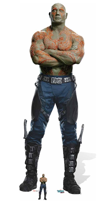 Drax the Destroyer (Dave Bautista) Guardians of the Galaxy