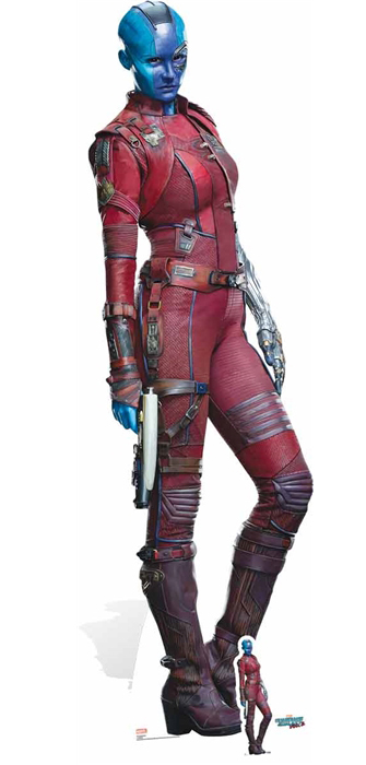 Nebula Karen Gillan Guardians of the Galaxy - Cutout