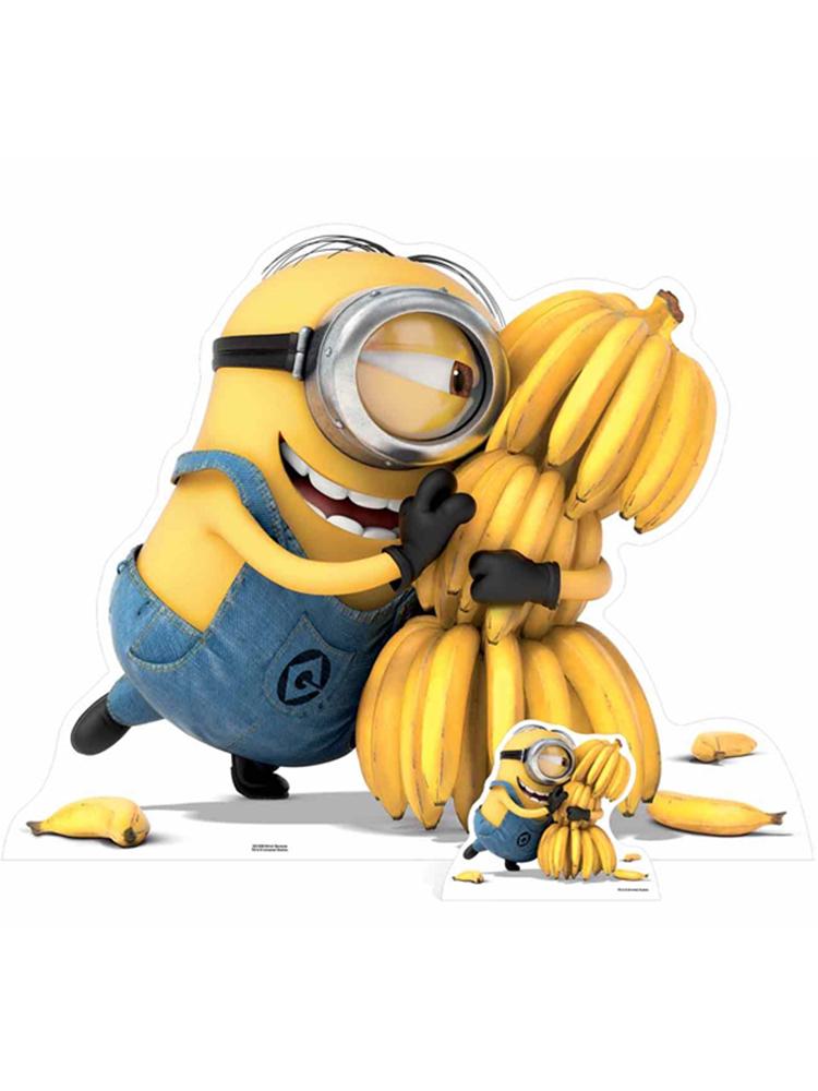 Minion Bananas - Cardboard Cutout