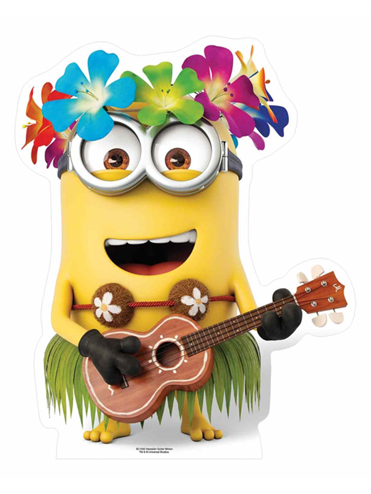 Hawaiian Guitar Dave Minion Star-Mini Cutout