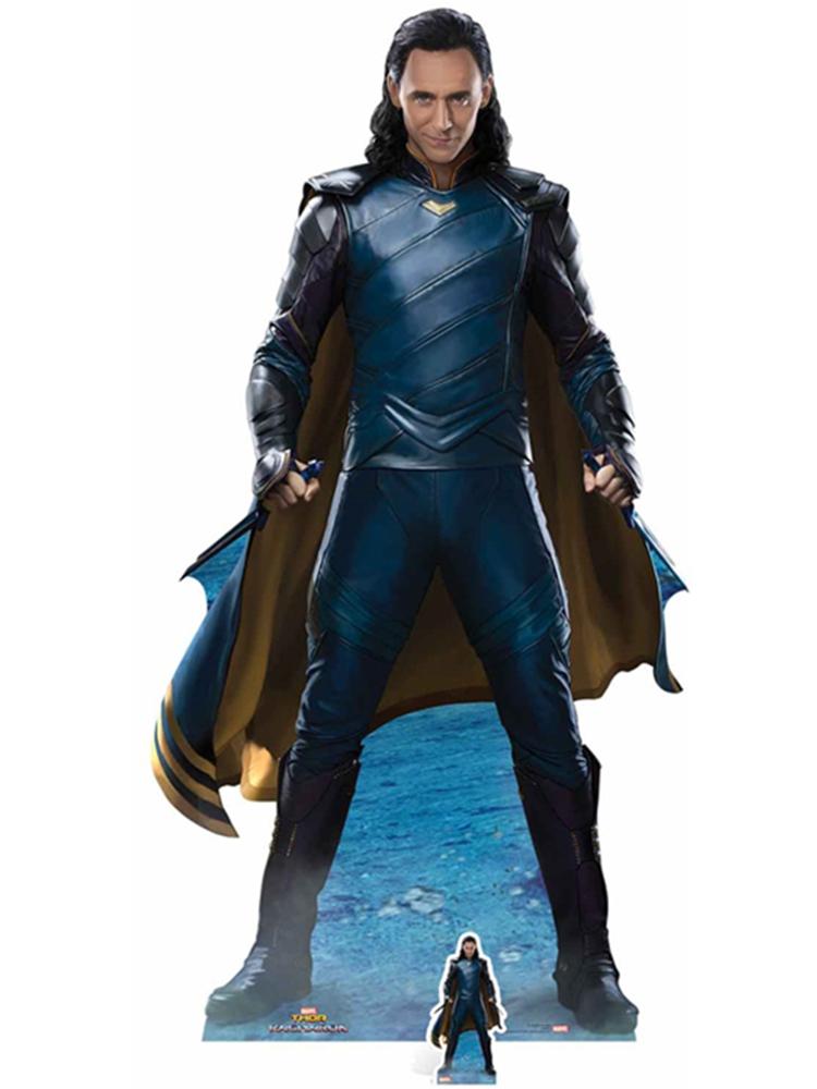 Loki (TR) Raganarok Tom Hiddleston  - Cardboard Cutout