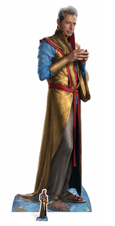 Grandmaster (TR) Ragnarok Jeff Goldblum - Cardboard Cutout