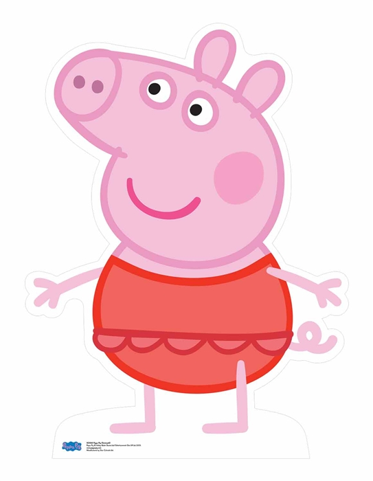 Peppa Pig Swimsuit Cardboard Cutout