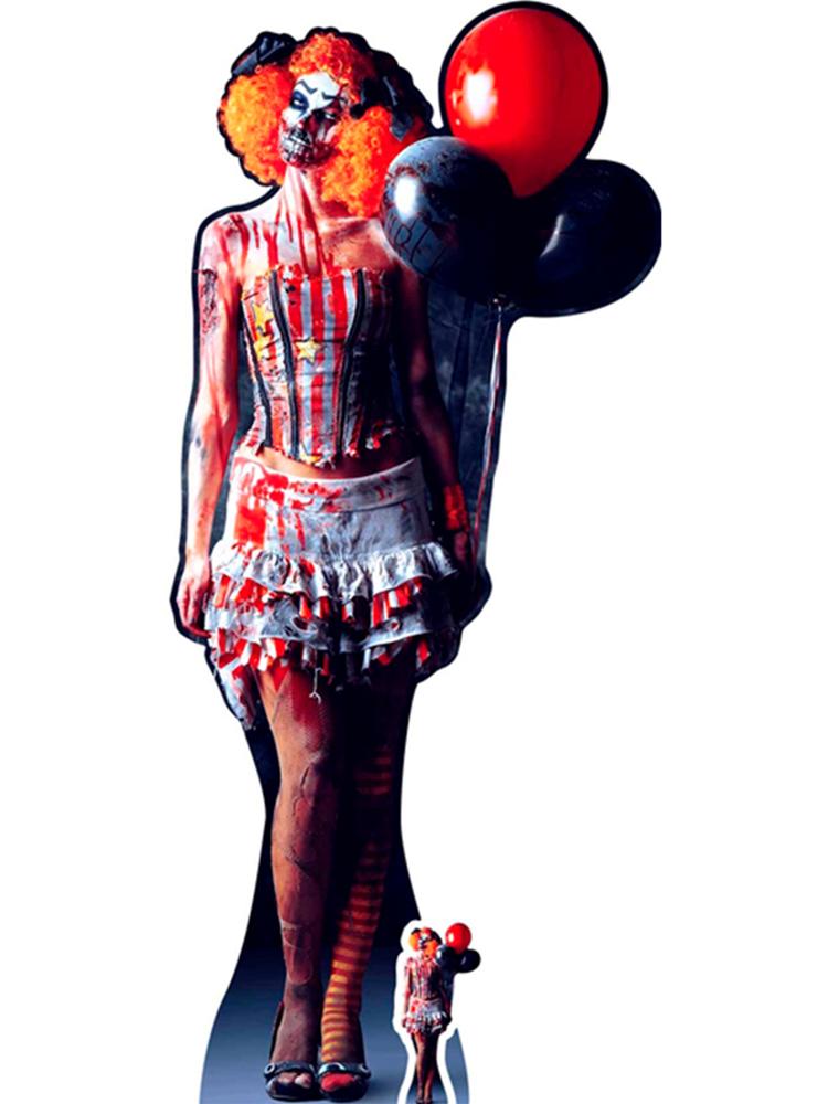 It is a Very Scary Female Clown