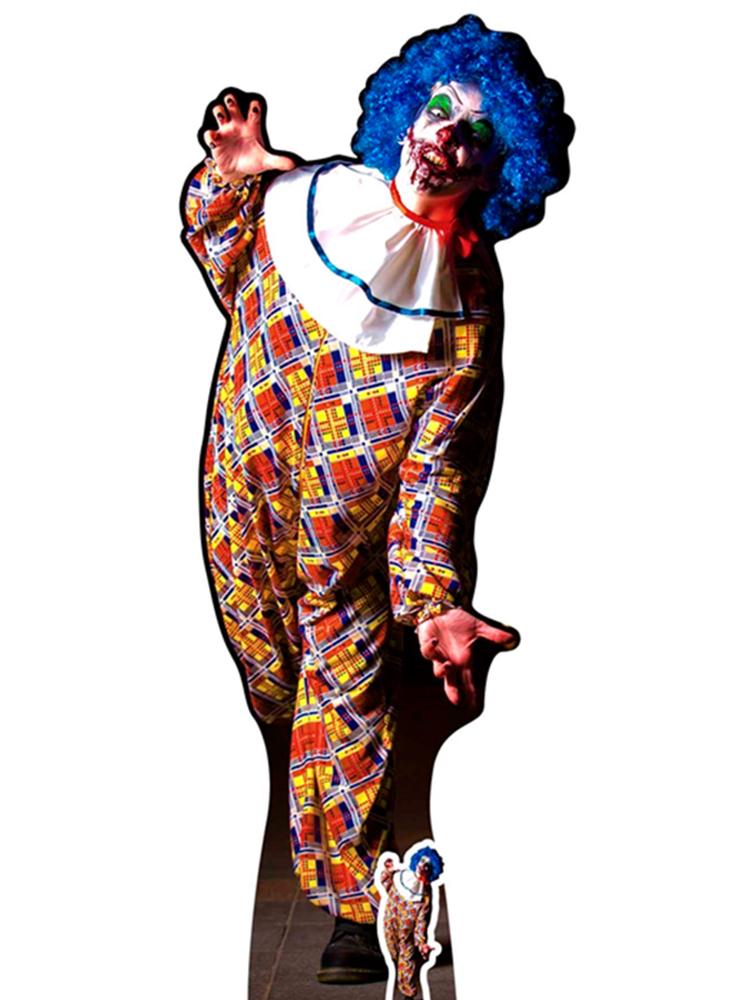 It is a Very Scary male Clown