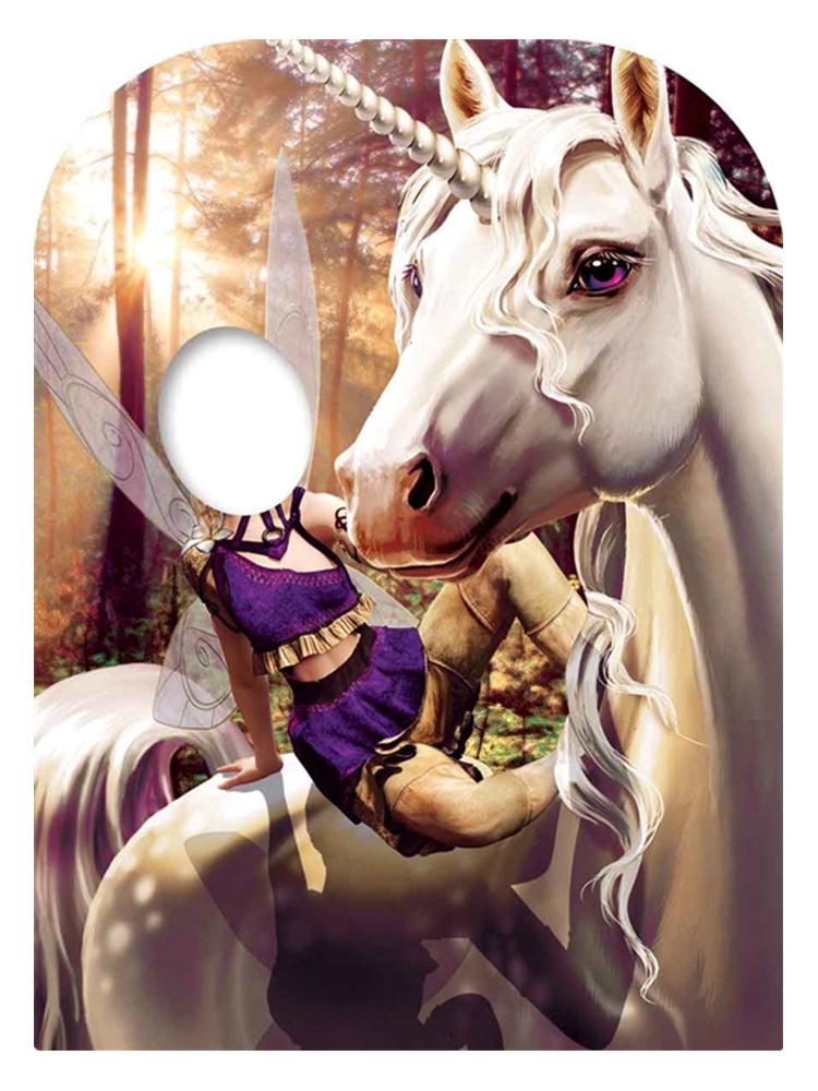 Unicorn & Fairy Fantasy Land Child Size Stand-in - Cardboard Cutout