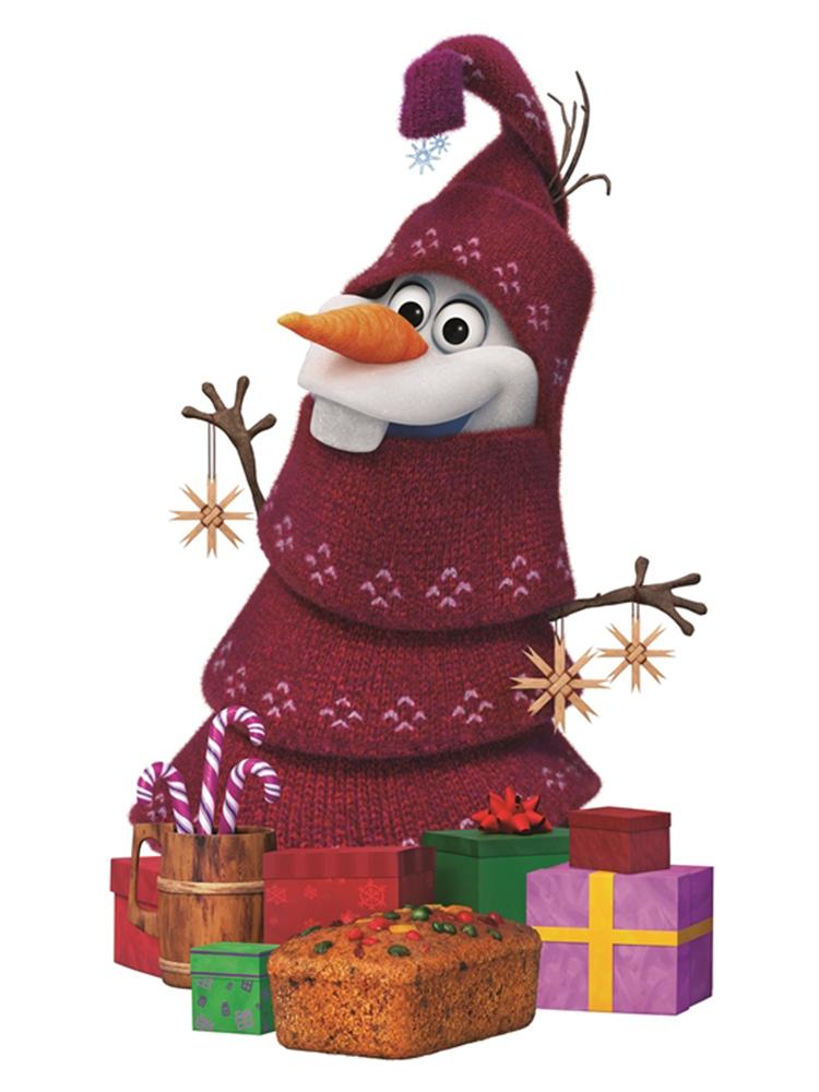 Christmas Olaf Frozen Adventure - Cardboard Cutout