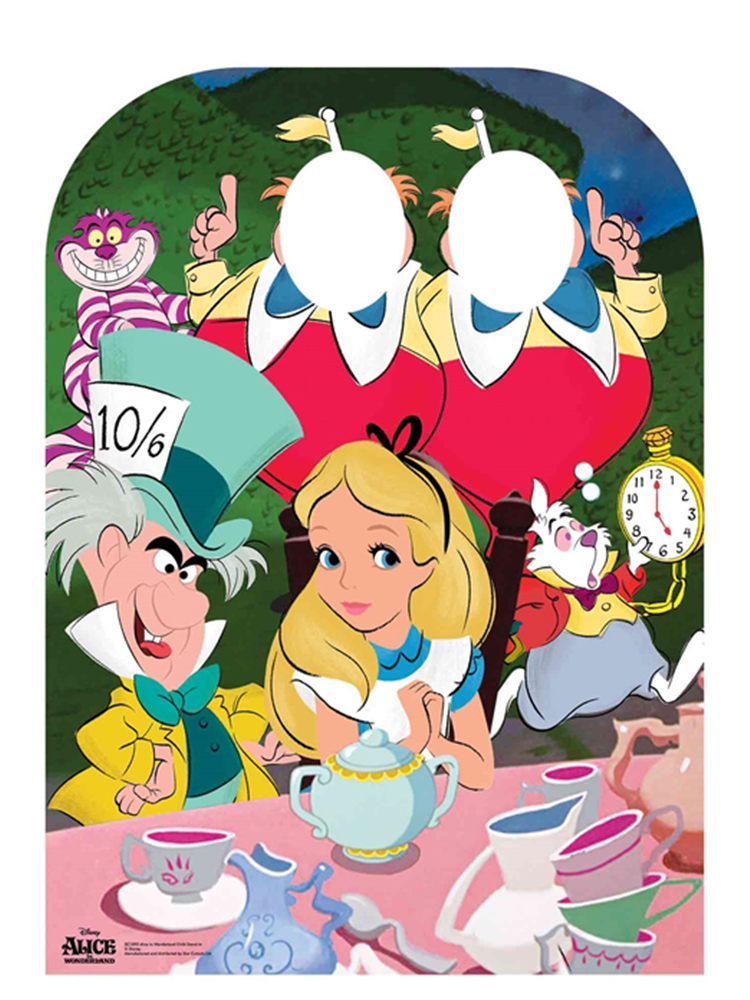 Alice in Wonderland Tea Party Stand-in Child Sized Cutout