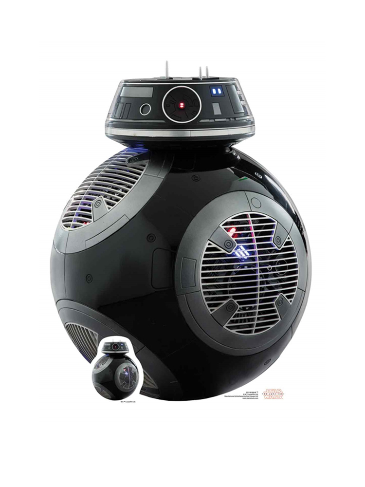 BB-9E The Last Jedi (Mini) Star Wars Cardboard Cutout