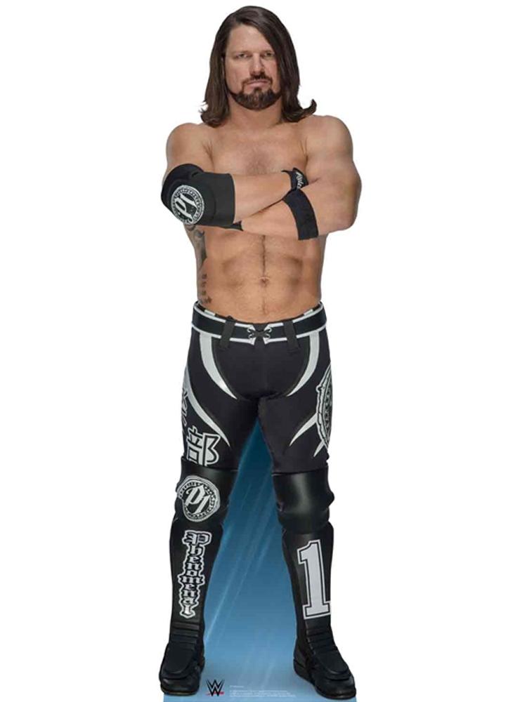 AJ Styles aka Allen Neal Jones World Wrestling Entertainment WWE