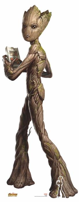 Teen Groot (Avengers: Infinity War) - Cardboard Cutout