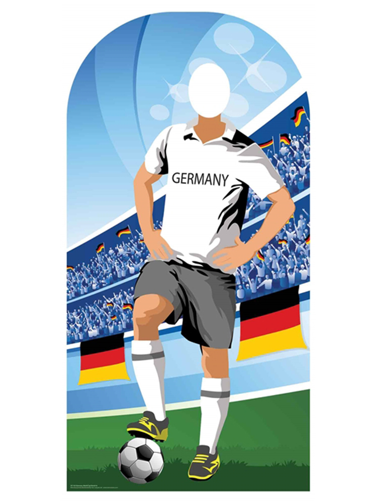 Germany (World Cup Football Stand-IN) - Cardboard Cutout
