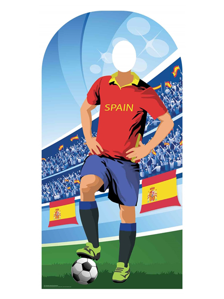 Spain (World Cup Football Stand-IN) - Cardboard Cutout