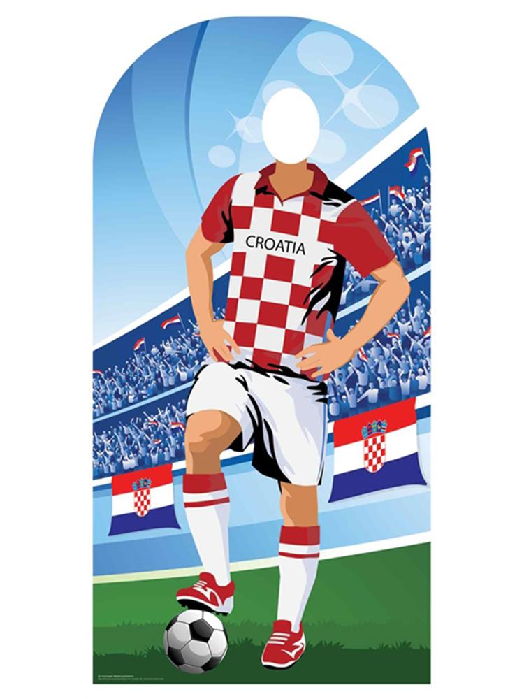 Croatia (World Cup Football Stand-IN) - Cardboard Cutout