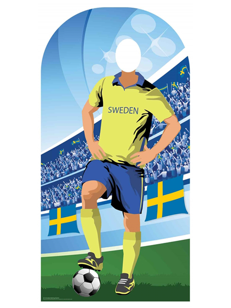 Sweden (World Cup Football Stand-IN) - Cardboard Cutout