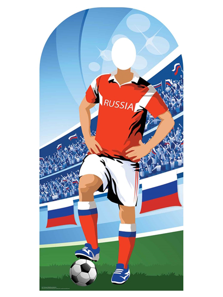Russia (World Cup Event Football Stand-IN) - Cardboard Cutout