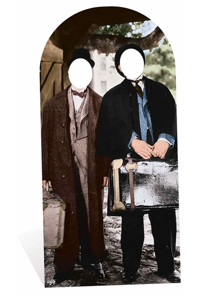 Laurel and Hardy Adult Size Stand-in - Cardboard Cutout