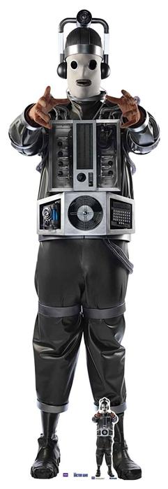 Mondassian Cyberman Doctor Who Bill Potts - Cutout