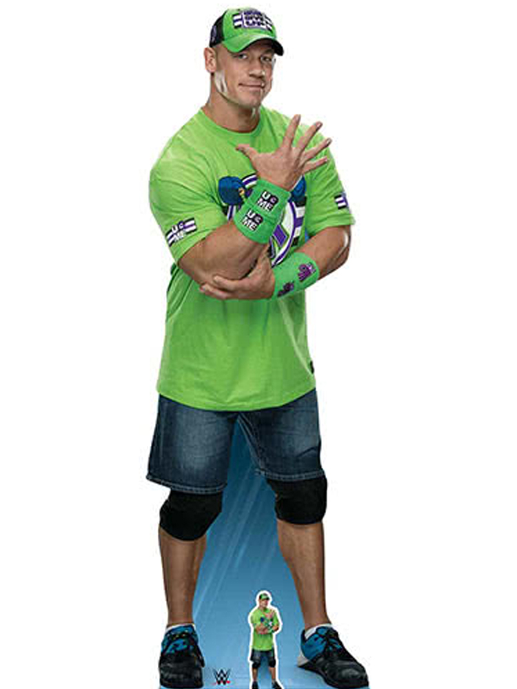 "John Cena ""Live fast, fight hard, no regrets!"" World Wrestling Entertainment WWE"