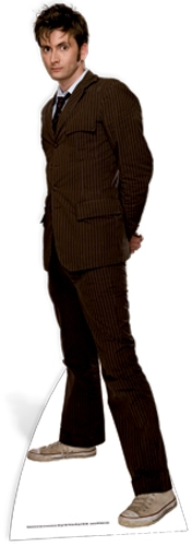 The Doctor David Tennant (Brown Suit) - Cutout