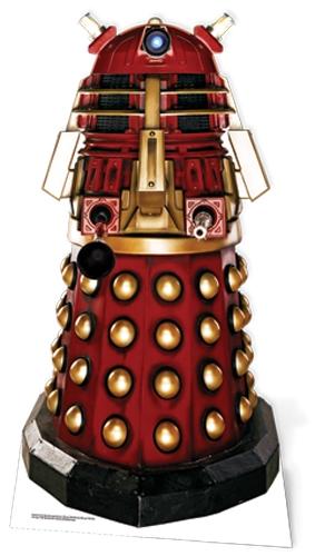 Supreme Dalek (Red Dalek) - Cardboard Cutout
