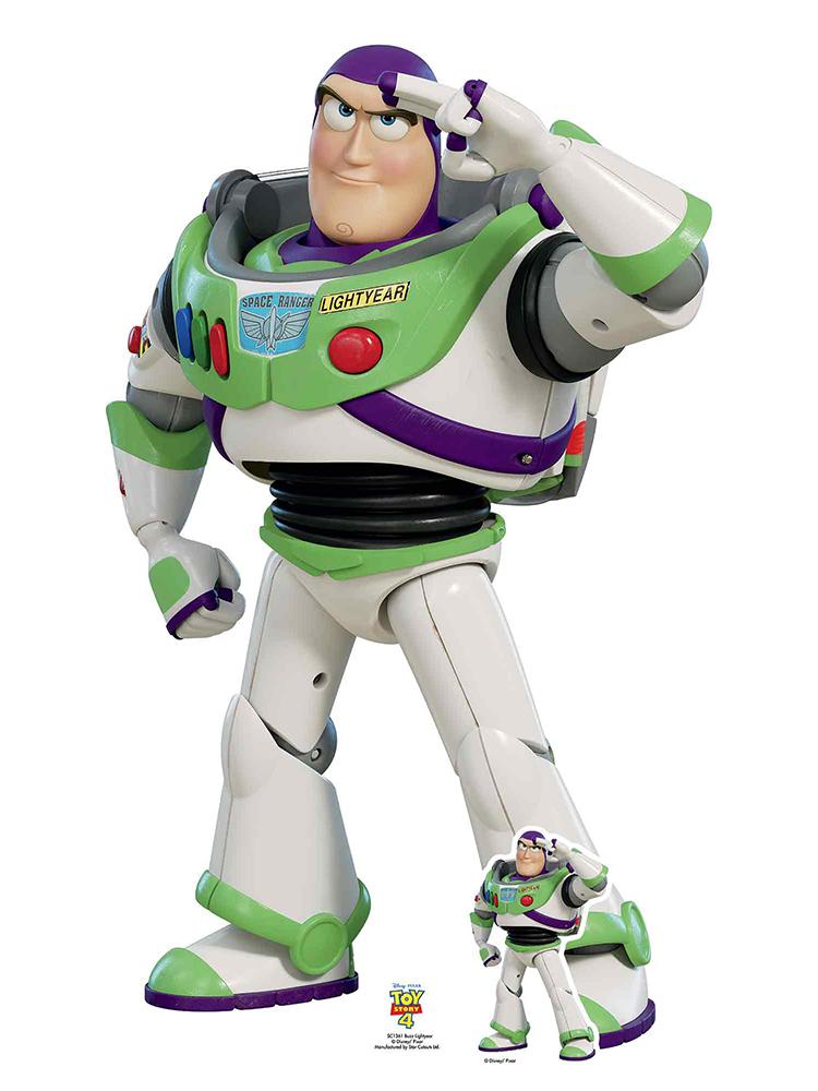 Buzz Lightyear Saluting Toy Story 4