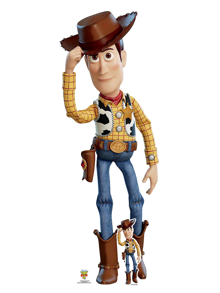 Woody Tilting Cowboy Hat Toy Story 4