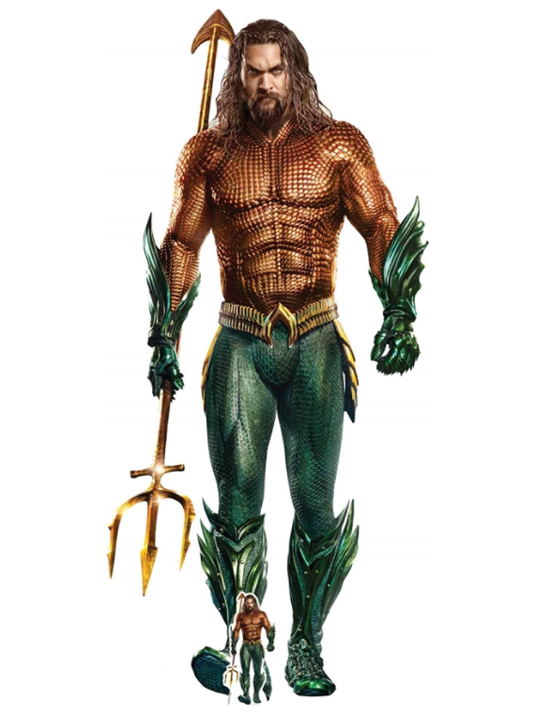 Aquaman Jason Momoa Cardboard Cutout