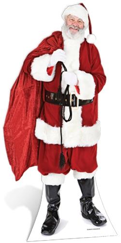 Santa with Sack of Toys - Cardboard Cutout