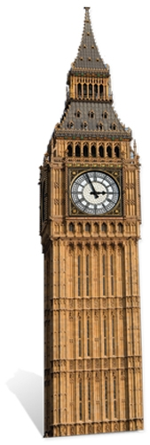 Big Ben (Clock) - Cardboard Cutout
