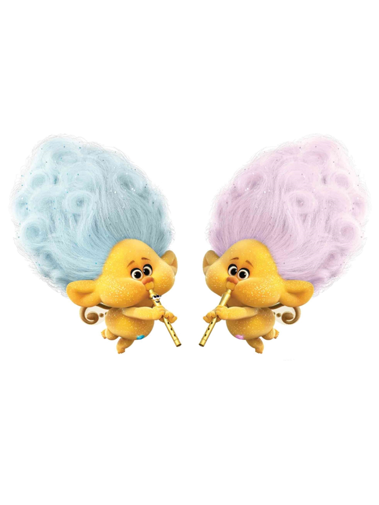 Cherub Blue and Pink Trolls World Tour