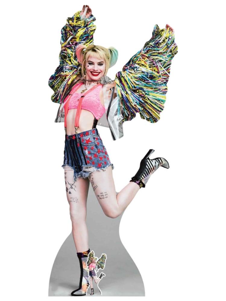 Harley Quinn Gotham's Worse Psychotic Happy Butterfly Margot Robbie Birds of Prey