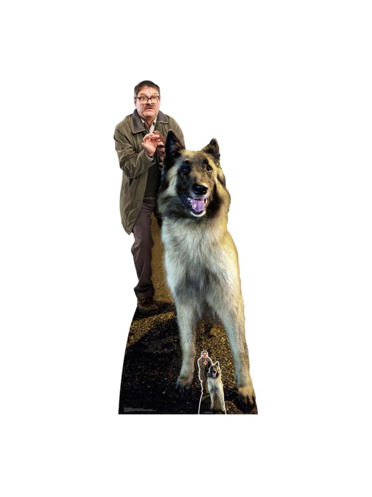 im Mark Heap and Wilson Dog Good Boy Friday Night Dinner Cardboard Cutouts