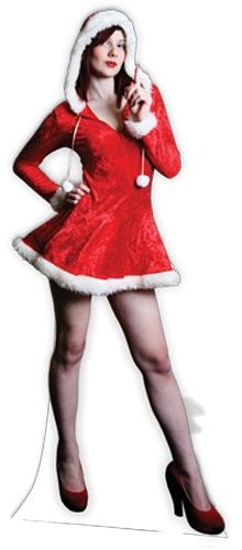 Mrs Christmas - Cardboard Cutout