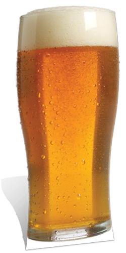 Pint of Beer - Cardboard Cutout
