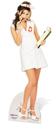 Naughty Nurse - Cardboard Cutout