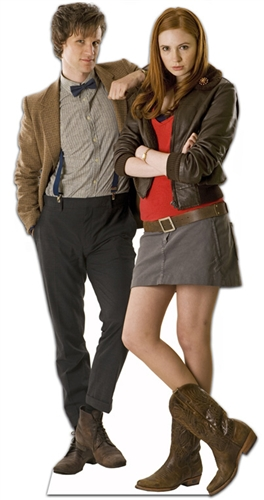 The Doctor and Companion - Cardboard Cutout