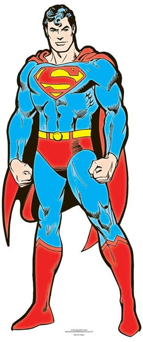 Superman DC (Star Mini) - Cardboard Cutout