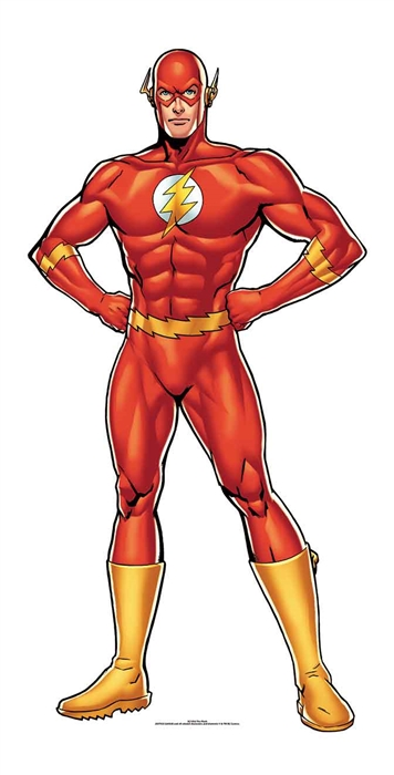 The Flash DC (Mini) - Cardboard Cutout
