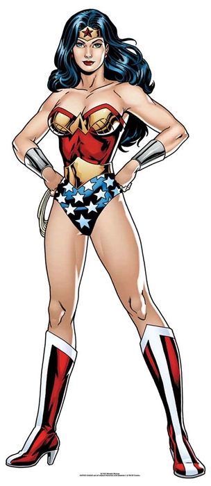 Wonder Woman DC (Star Mini) - Cardboard Cutout