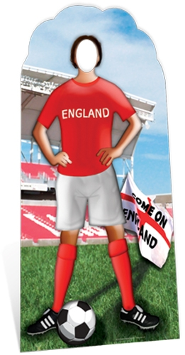 England Football Stand-In Original - Cardboard Cutout