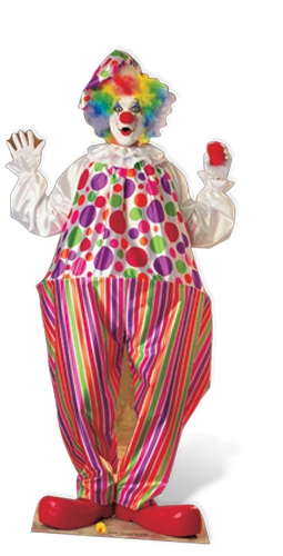 Clown - Cardboard Cutout