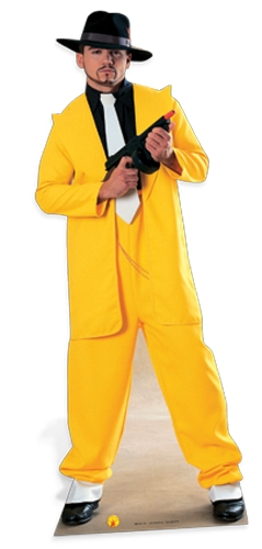 Gangster (in yellow suit) - Cardboard Cutout