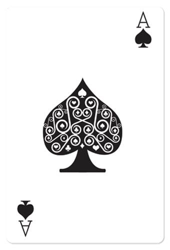 Ace of Spades Casino Playing Card - Cardboard Cutout